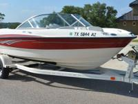 2009 Bayliner 185 Runabout, new 4.3 MerCruiser engine