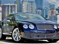 A very low mileage example of a 2009 Bentley
