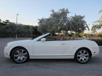 This 2009 Bentley Continental GT Convertible has an