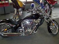 "2009 Big Dog Coyote Black mono-chrome paint. 117"" c.i."