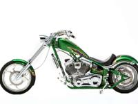 2009 Big Dog Motorcycles K-9 EFI Green Gold and Purple