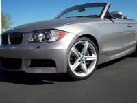 2009 BMW 1-Series 135i Converible 20K Mi.------Sport