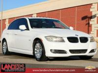 Alpine White 2009 BMW 3 Series 328i RWD 6-Speed