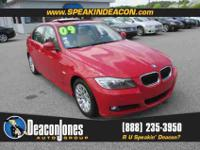 2009 BMW three Series four door Sedan 328i RWD, 4-Wheel