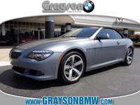 650i CONVERTIBLE WITH SPORT PACKAGE INCLUDING 19