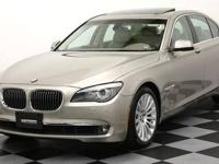 2009 BMW 750i SEDAN with only 33,000 miles. This 7