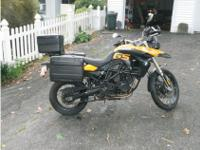 I am presently representing this 2009 BMW GS 800 Dual