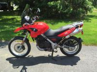 2009 BMW GS650GS Standard Height Clean, well