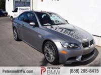 Meet our unique, race-tuned 2009 BMW M3 RWD Coupe shown