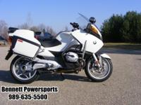For Sale 2009 BMW R1200RT Police Model. Come in and