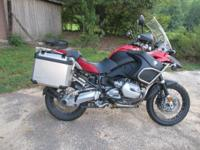 2009 BMW R1200GS ADVENTURE PREMIUM 14,992 MILES FULLY