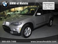 BMW of Mobile presents this 2009 BMW X5 AWD 4DR 35D