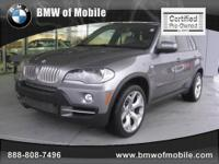 BMW of Mobile presents this 2009 BMW X5 AWD 4DR 48I