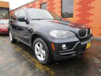 Elegantly expressive, this 2009 BMW X5 represents a