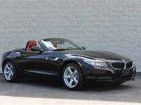 MANUAL CORAL RED INTERIOR This 2009 BMW Z4 Hard Top