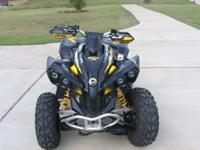 2009 Can Am Renegade 800RX.  It is 4WD with Low & High