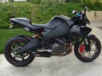 Lowered Price!...Rare 2009 Buell 1125CR in great