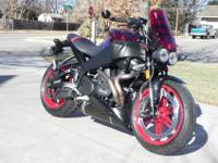 2009 Buell XB12-SCG for sale.It needs to be out where