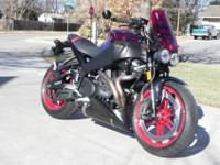 2009 Buell XB12-SCG . I have purchased a sport touring