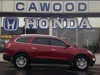 Options:  2009 Buick Enclave Cx|Red|3.16 Axle
