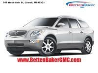 Options:  2009 Buick Enclave Awd 4Dr Cxl|4-Wheel