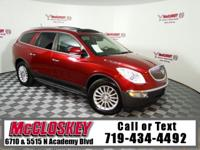 Get Excited in this Enclave! All Wheel Drive, Leather,