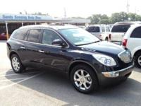 The three-row 2009 Buick Enclave crossover SUV is an