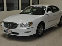 Options Included: N/AThis certified Buick LaCrosse CXL