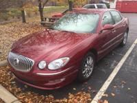 CARFAX One-Owner. Clean CARFAX. 2009 Buick LaCrosse CXL