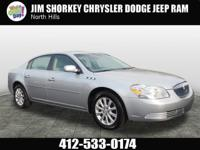 2009 Buick Lucerne CX CARFAX One-Owner. Clean CARFAX.