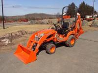 FOR SALE 09 KUBOTA MODEL BX25 TLB.THIS TRACTOR HAS 402
