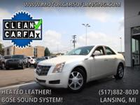 Options:  2009 Cadillac Cts Base W/1Sa|Heated Leather