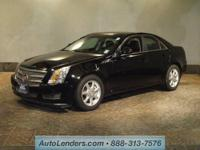 This CERTIFIED preowned 2009 CADILLAC CTS comes