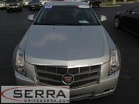 2009 CADILLAC CTS AWD PERFORMANCE SEDAN, CERTIFIED,