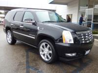 Options:  2009 Cadillac Escalade Awd 4Dr Used|Black