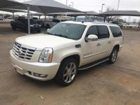 We are excited to offer this 2009 Cadillac Escalade
