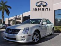 2009 Cadillac STS RWD w/1SA, 46454 Miles, Auto, 3.6L