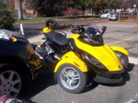 I have for sale this Can-am motorcycle. This motorcycle