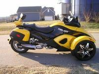 "( ( ( The Can-Am Spyder (""Spyder"") is a three-wheeled"