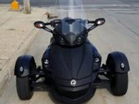 Up for auction is my 2009 Can-Am Spyder Phantom
