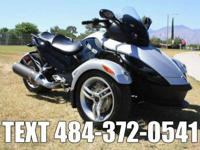 This Can-Am Spyder is bone Stock with low low miles!It