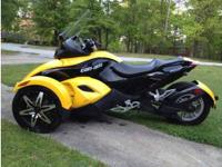 Sell Fast LLC is now offering a Can-Am Spyder Roadster