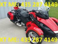 FOR SALE IS A LIKE NEW 2009 CAN AM SPYDER RS