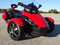 This 2009 Can-Am Spyder GS SE5, color is an uncommon