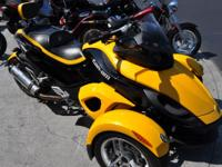 2009 Can-Am Spyder SM5 Affordable Spyder with low