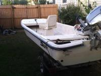 2009 Carolina Skiff J14 with 2012 Honda 20hp. Low hours