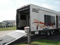 2009 Cherokee Wolf Pack 30WP We bought this trailer