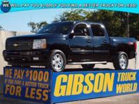 WWW.GIBSONTRUCKWORLD.COM 2009 Chevy Silverado 1500 LT2