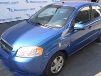2009 Chevrolet Aveo, 75,864 odometer mileage, VIN#
