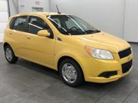 This Aveo 5 LT w/1LT has less than 37k miles! CARFAX 1